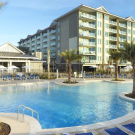 Ocean Oak Resort by Hilton Grand Vacations Club Pool Area