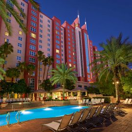 Hilton Grand Vacations at The Flamingo Exterior View