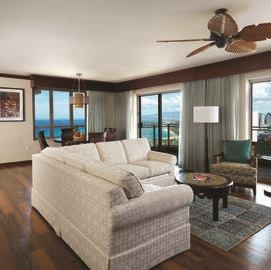 The Grand Waikikian Penthouse Living Room