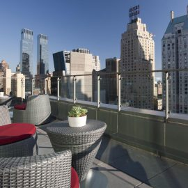 West 57th Street by Hilton Club Patio View