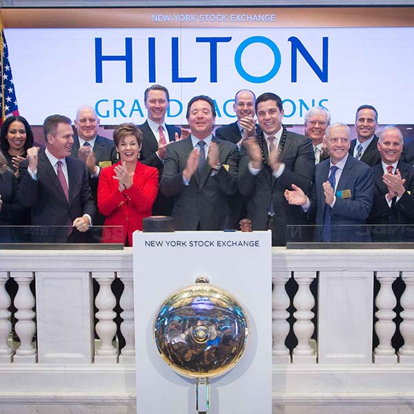 Hilton Grand Vacations at NYSE