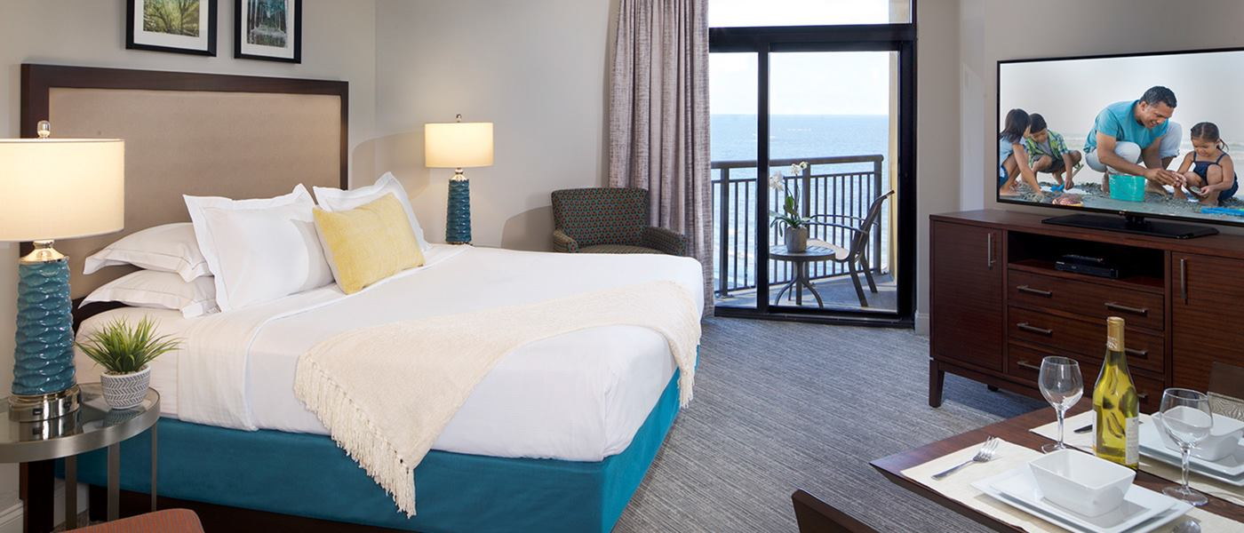 Hilton Grand Vacations Club at Anderson Ocean Club Bedroom