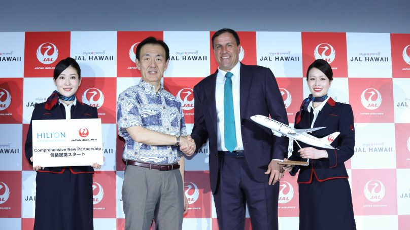 Hilton Grand Vacations and Japan Airlines extend their partnership