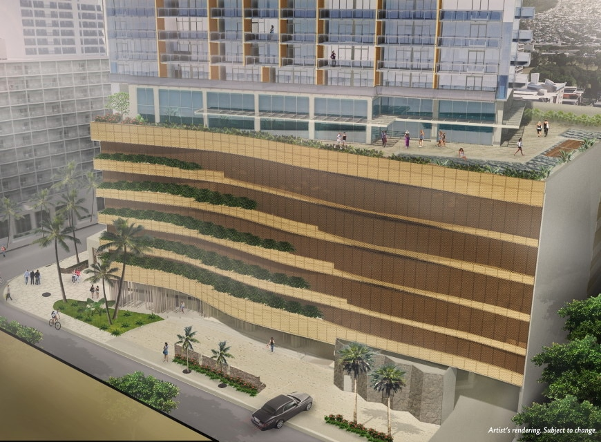 Ka Haku Nui by Hilton Grand Vacations entry rendering