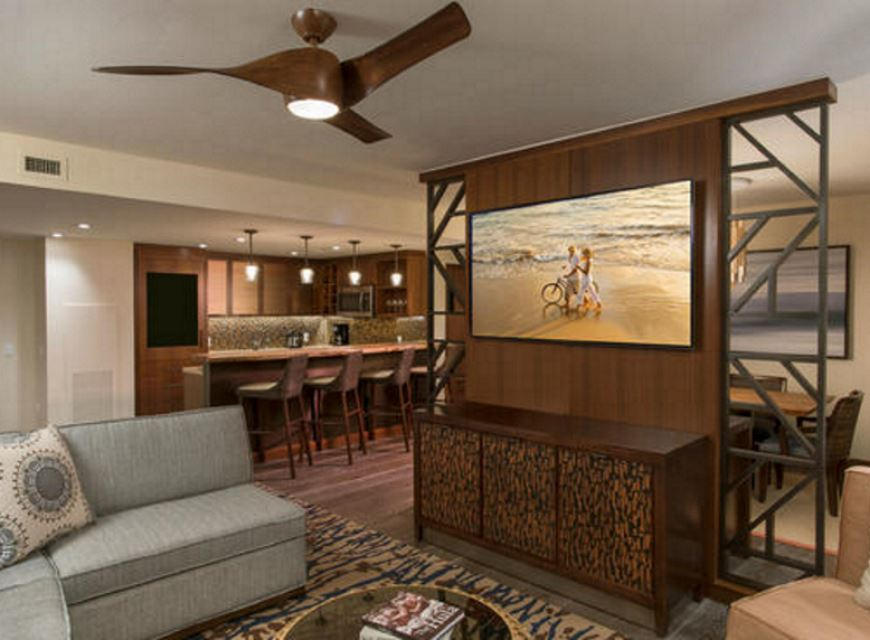 The Grand Islander By Hilton Grand Vacations Club Living Area
