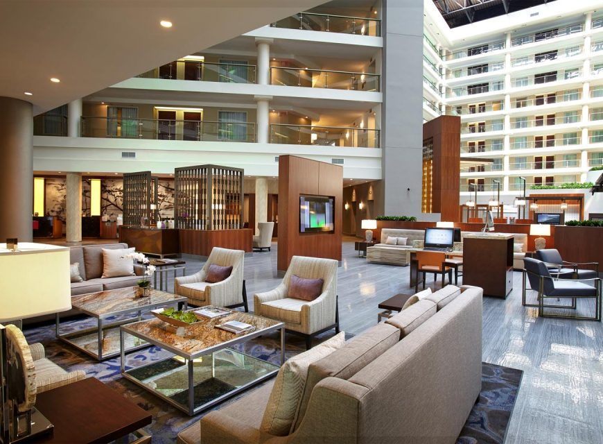 The District by Hilton Club Lobby Area
