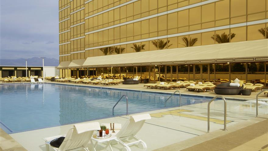 Pool at Hilton Grand Vacations at Trump International Hotel Las Vegas located in Las Vegas, Nevada.