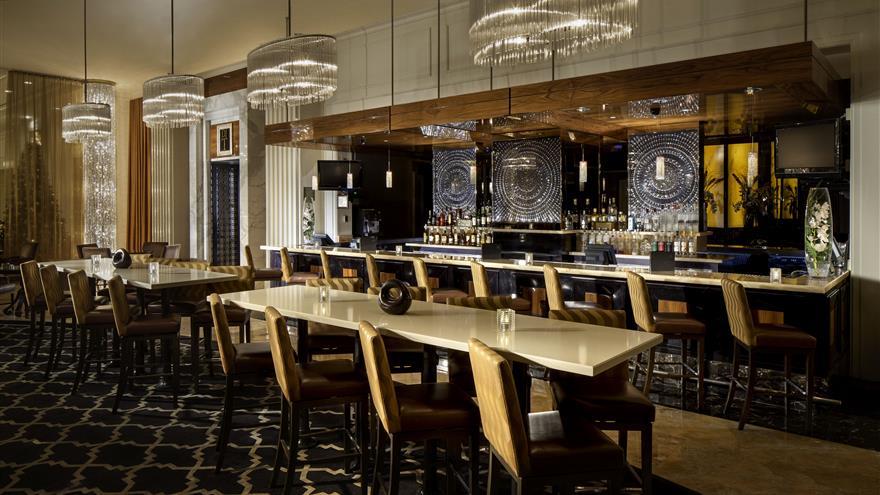 Bar at Hilton Grand Vacations at Trump International Hotel Las Vegas located in Las Vegas, Nevada.