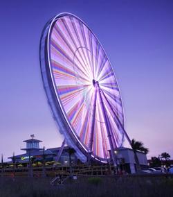 Ferris wheel at the Myrtle Beach Boardwalk