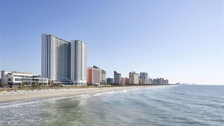 Resorts along Myrtle Beach