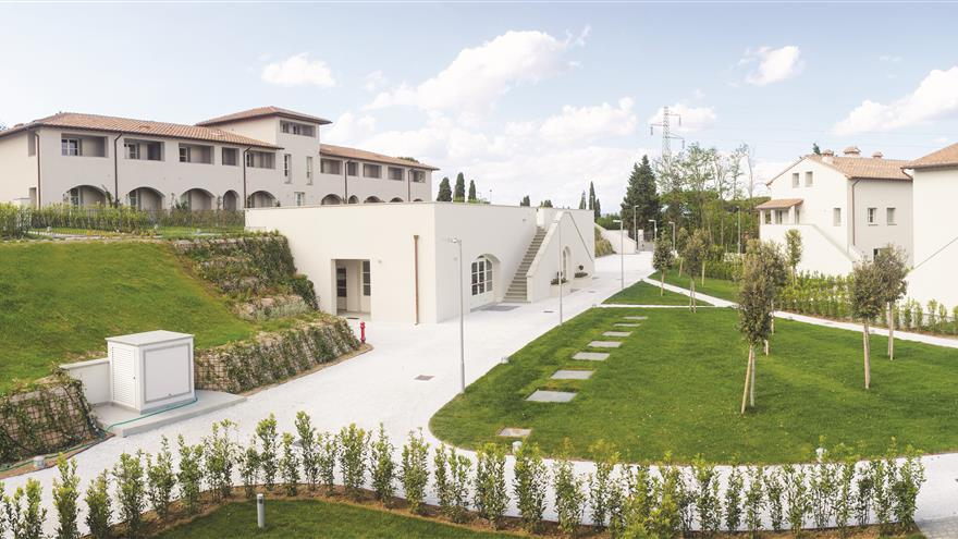 Hilton Grand Vacations at Borgo alle Vigne located at Selvatelle, Pisa, Italy.