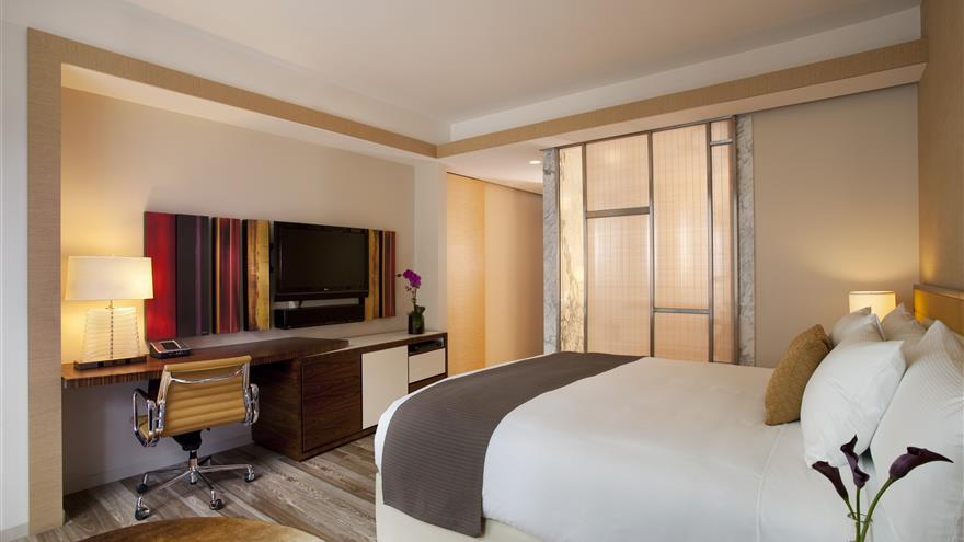 Bedroom in  West 57th Street by Hilton Club