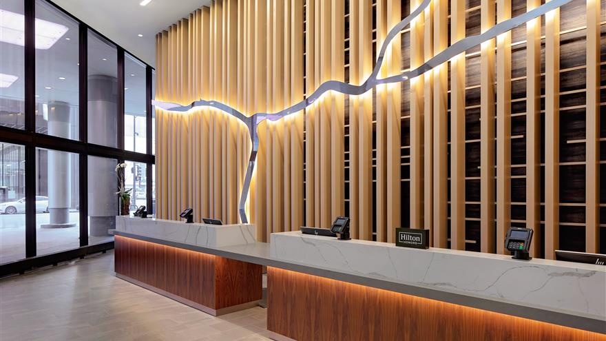 Check in at Hilton Grand Vacations Chicago Downtown /Magnificent Mile located in Illinois.