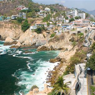 Cliffside beachs