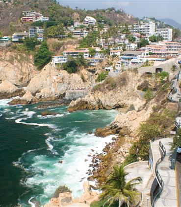 Cliffside beaches