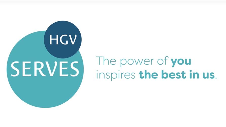 HGV Serves logo