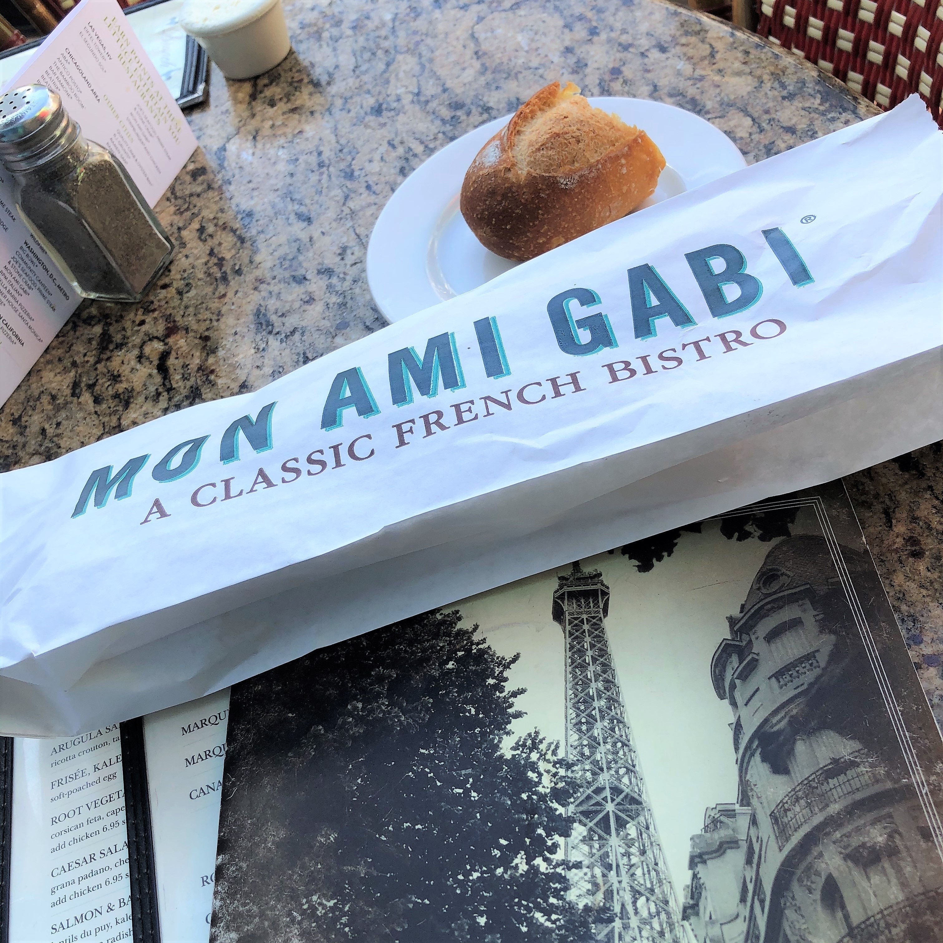 Mon Ami Gabi at Paris Las Vegas, Nevada
