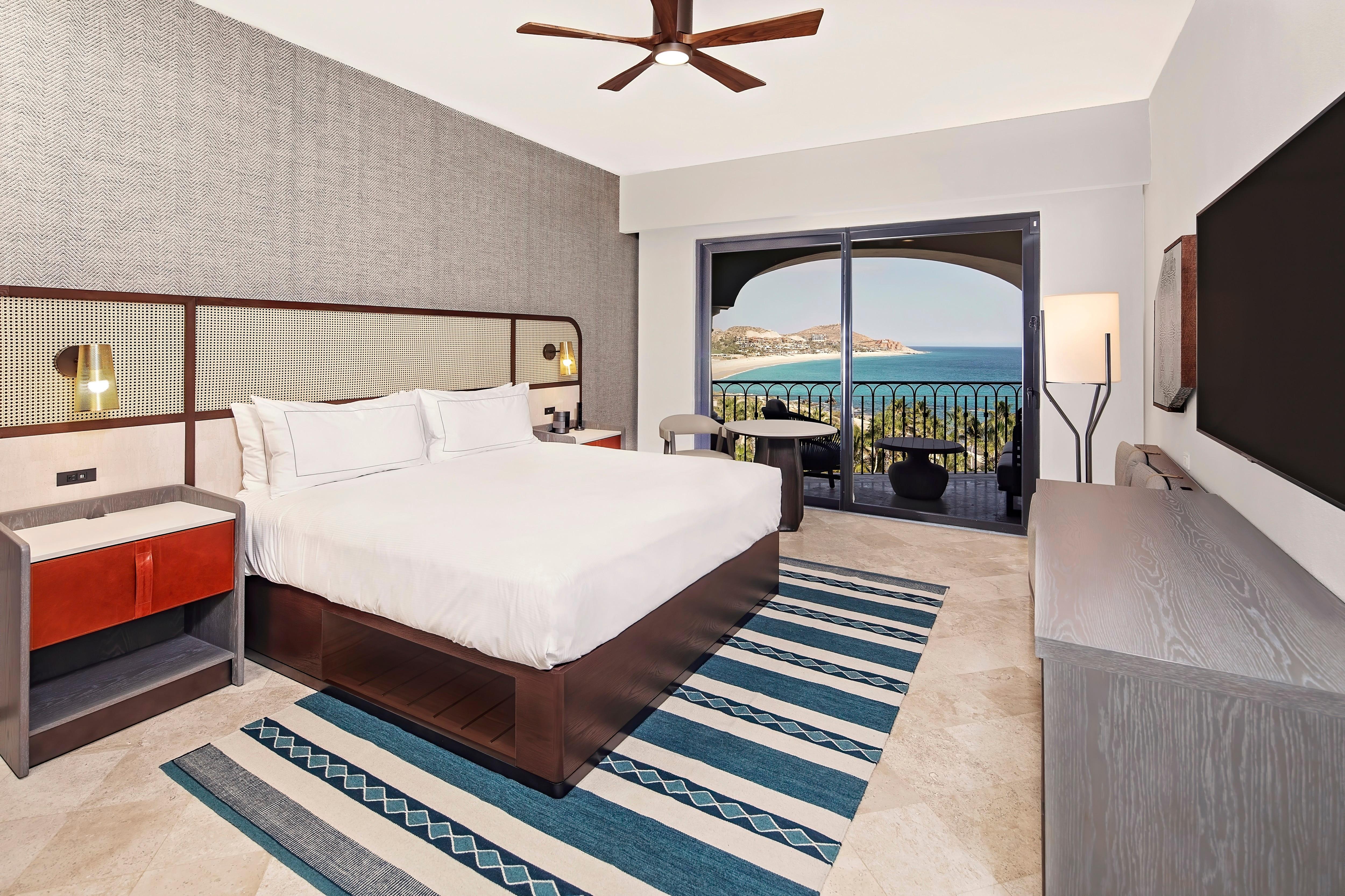 A Model suite at La Pacifica Los Cabos by Hilton Club in Los Cabos, Mexico.