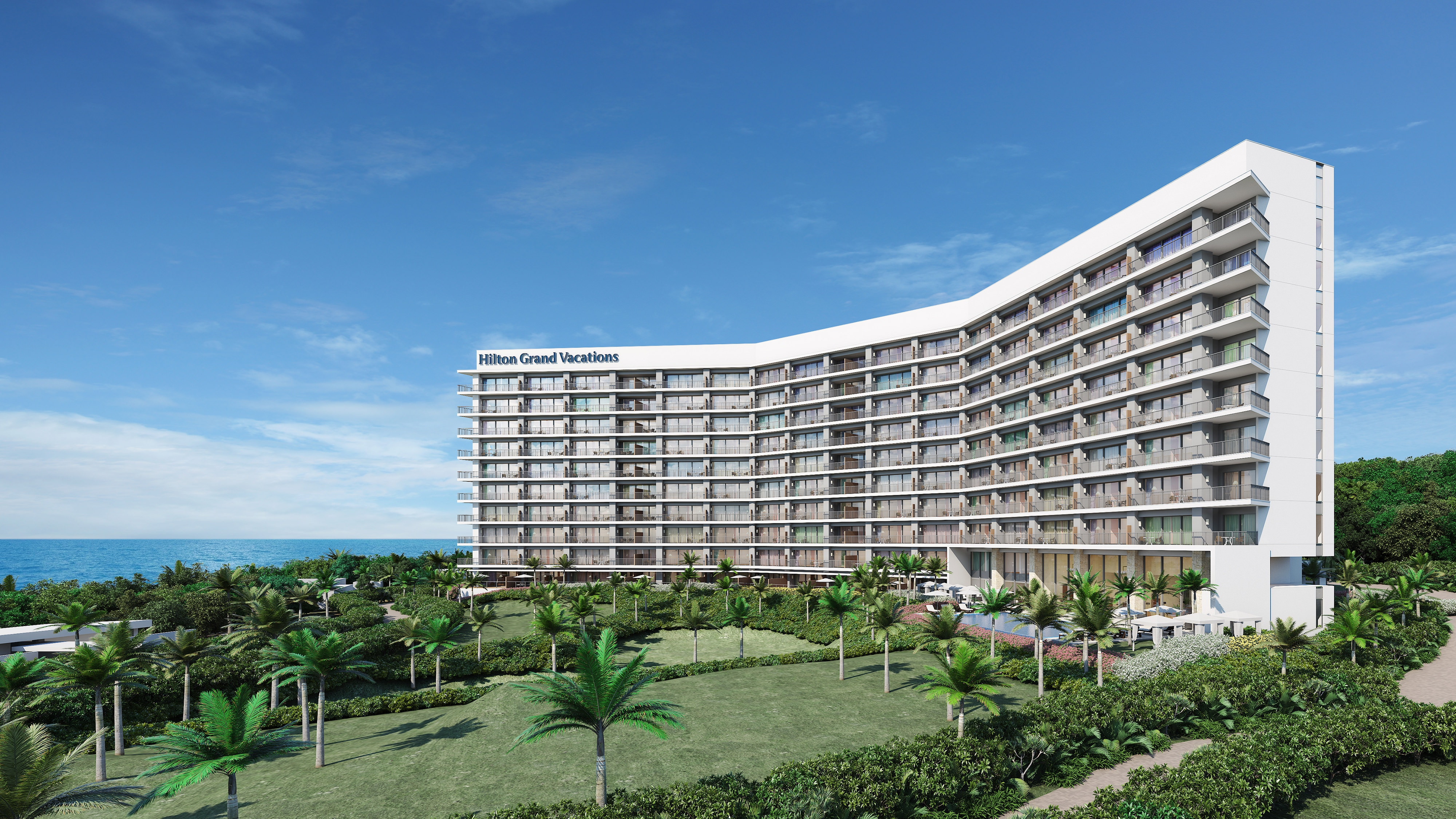 The Beach Resort Sesoko by Hilton Club exterior.