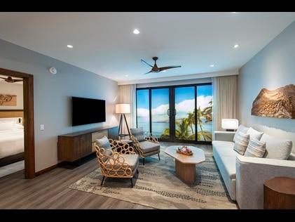 1-bedroom suite at Maui Bay Villas by Hilton Grand Vacations.