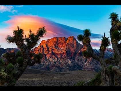 Natural beauty in Nevada just off the Las Vegas Strip.