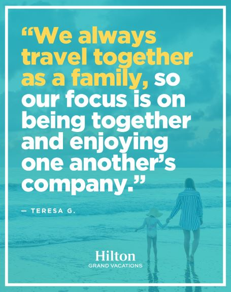 Hilton Grand Vacations Owner picture quote.