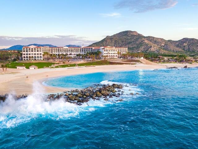 Aerial view of La Pacifica Los Cabos by Hilton Club, Mexico.