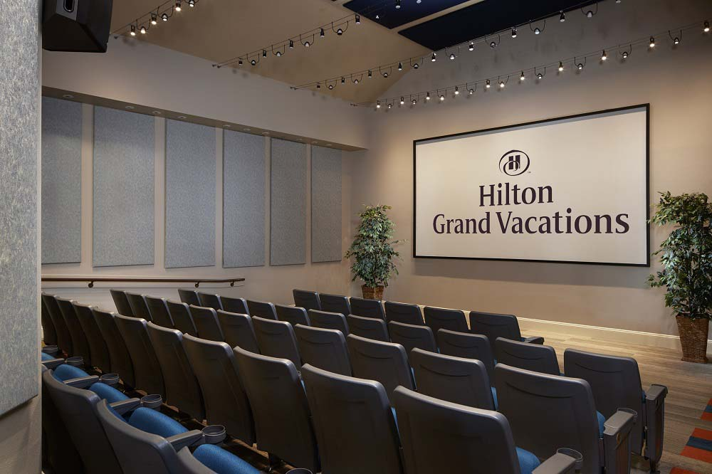 HIlton Grand Vacations presentation room