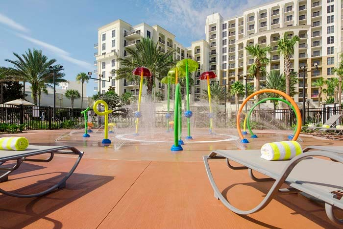 Outdoor recreation area for kids