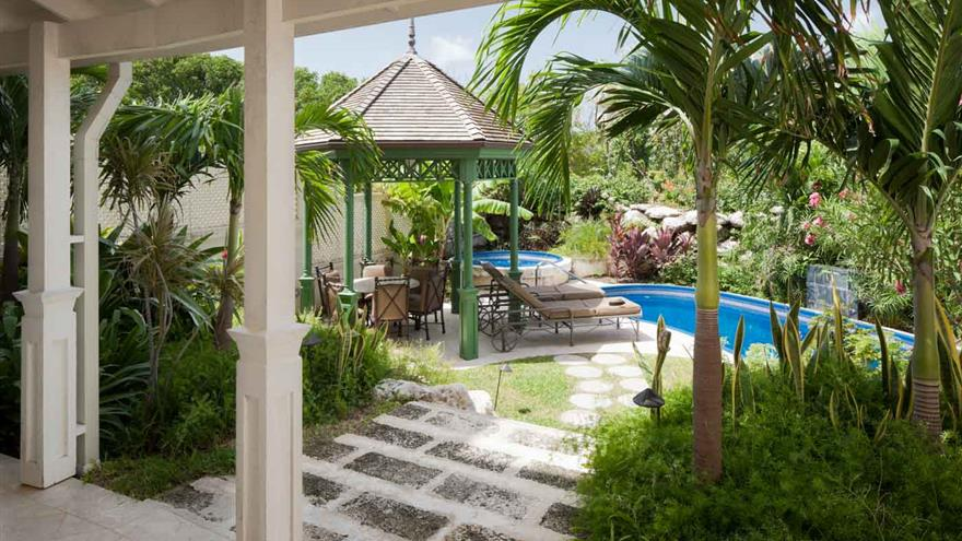 Pool at Hilton Grand Vacations at The Crane located in St. Phillip, Barbados.