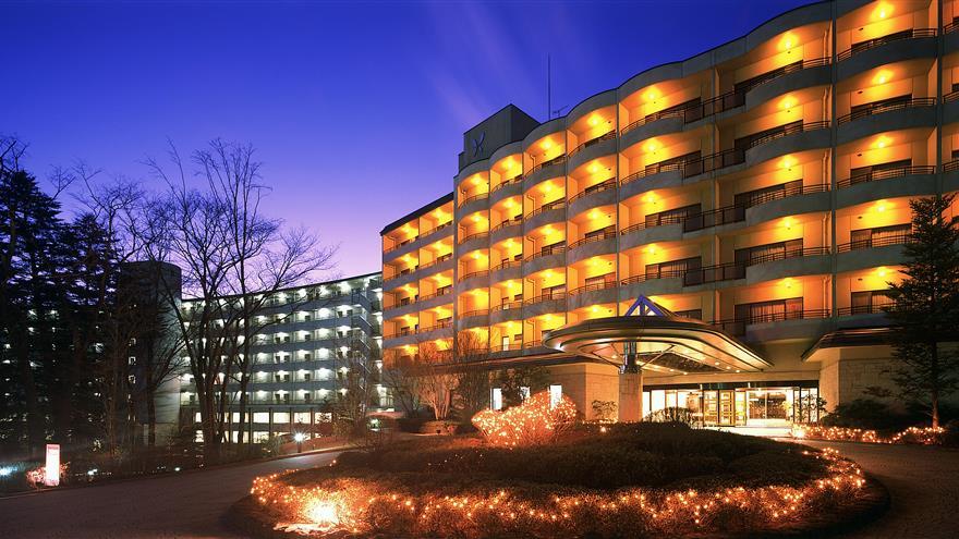 Exterior of Hotel Harvest Kinugawa located at Nikko, Tochigi, Japan.
