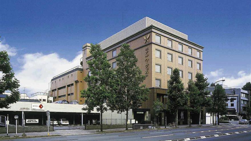 Exterior of Hotel Harvest Kyoto Takagamine located at Kitaku, Kitaku Kyoto-shi Kyoto-Fu, Japan.