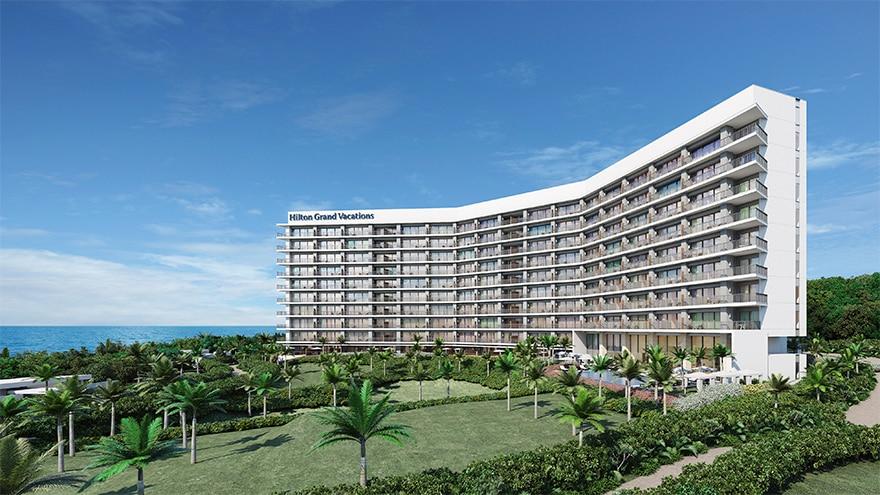 The Beach Resort Sesoko by Hilton Club   Rendering of resort exterior