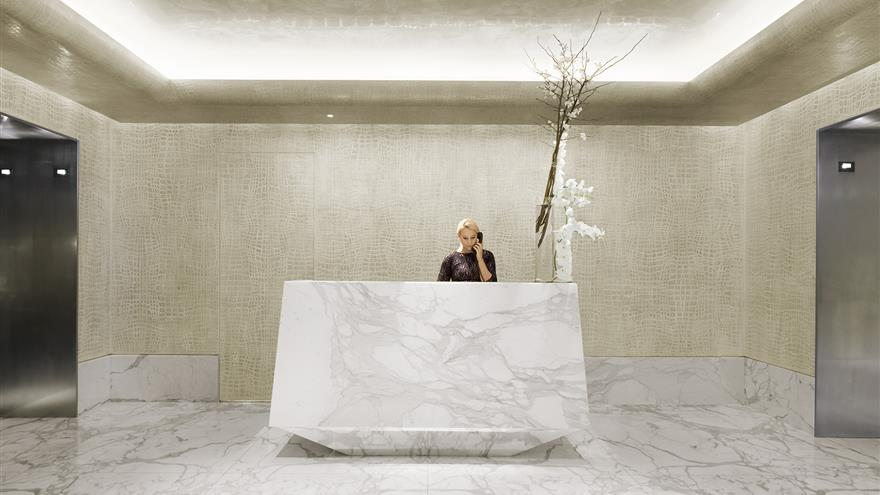 Concierge Desk at The Quin by Hilton Club located in New York.