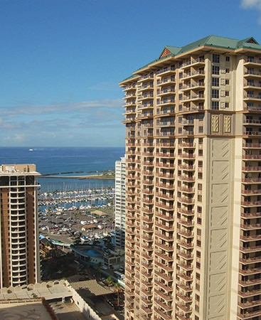 The Grand Waikikian Vacation Resort in Waikiki Oahu