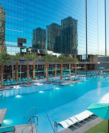 Resort Pool at Elara Hilton GRand Vacations Las Vegas