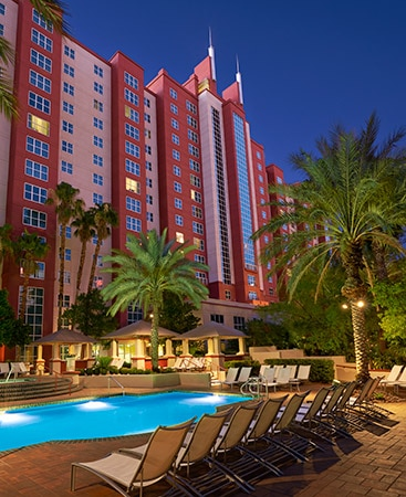 Hilton Grand Vacations Club timeshare at the Flamingo