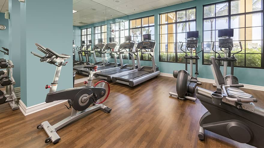 Sunset Cove Resort Fitness Room