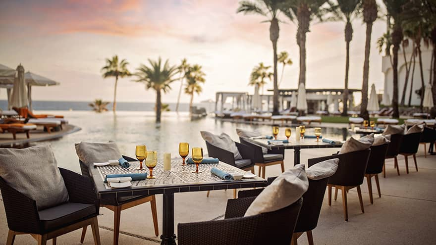 La Pacifica Resort Poolside Dining