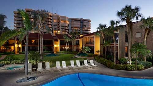 Club Regency of Marco Island Pool Area