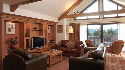 Hilton Grand Vacations Club at Craigendarroch Lodges Living Area