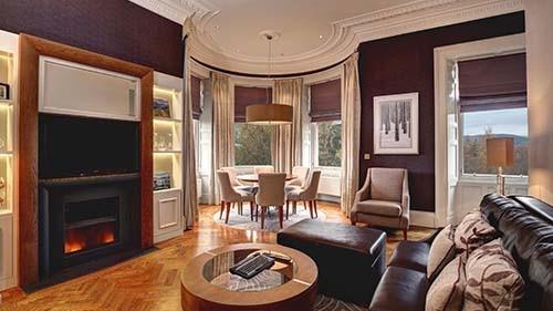 Hilton Grand Vacations Club at Craigendarroch Suites Living Area
