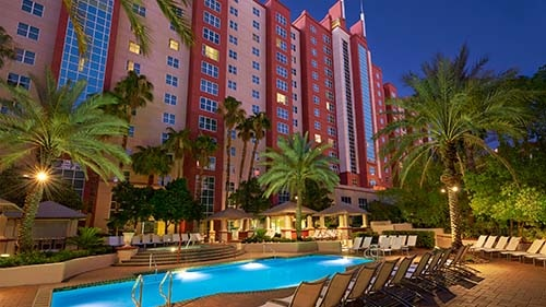 Hilton Grand Vacations Club at the Flamingo Exterior