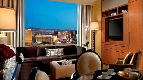Hilton Grand Vacations Club at Trump International Hotel Las Vegas Living Area