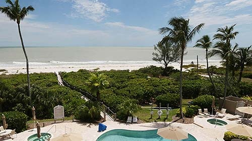 Hurricane House Resort Pool Area