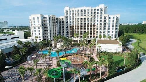Las Palmeras, a Hilton Grand Vacations Club Exterior