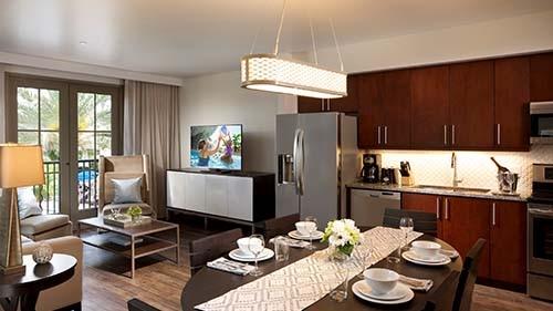 Las Palmeras, a Hilton Grand Vacations Club Living Area