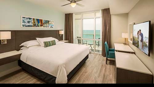 Ocean 22 by Hilton Grand Vacations Club Bedroom
