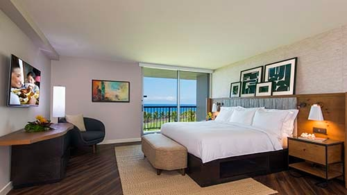 Ocean Tower by Hilton Grand Vacations Club Bedroom