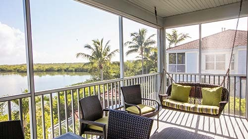 Plantation Bay Villas at South Seas Island Resort Porch